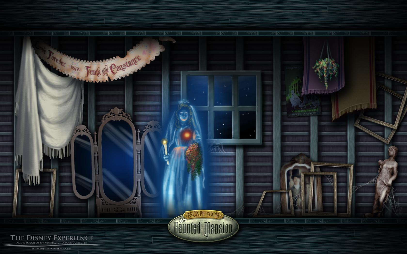"escape from the haunted mansion"" board game"