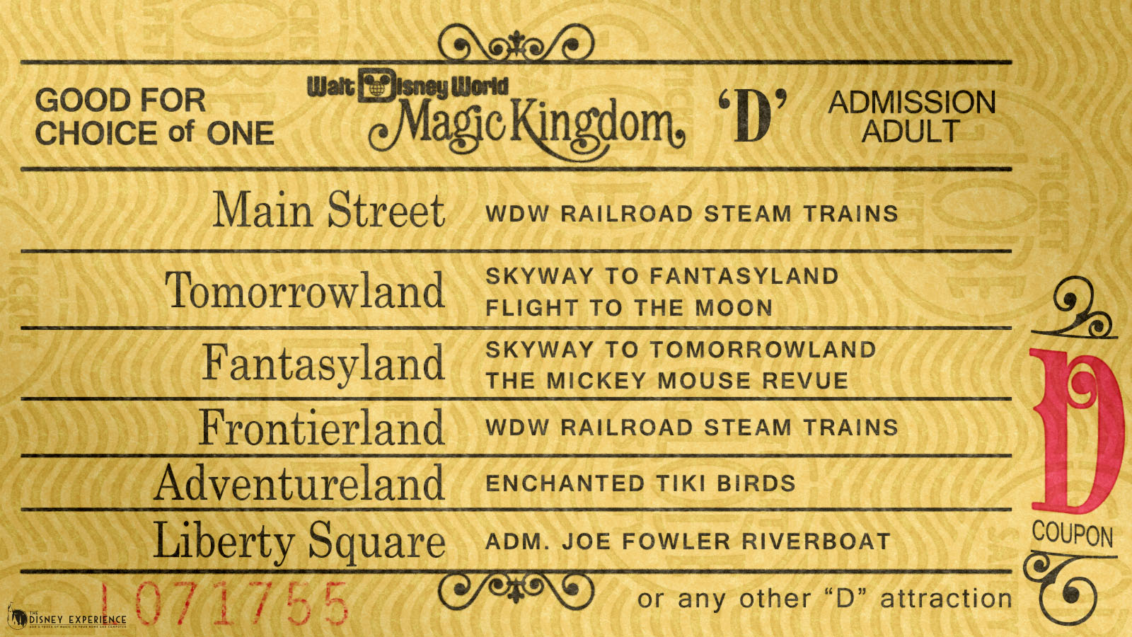 Wdw D Ticket Widescreen