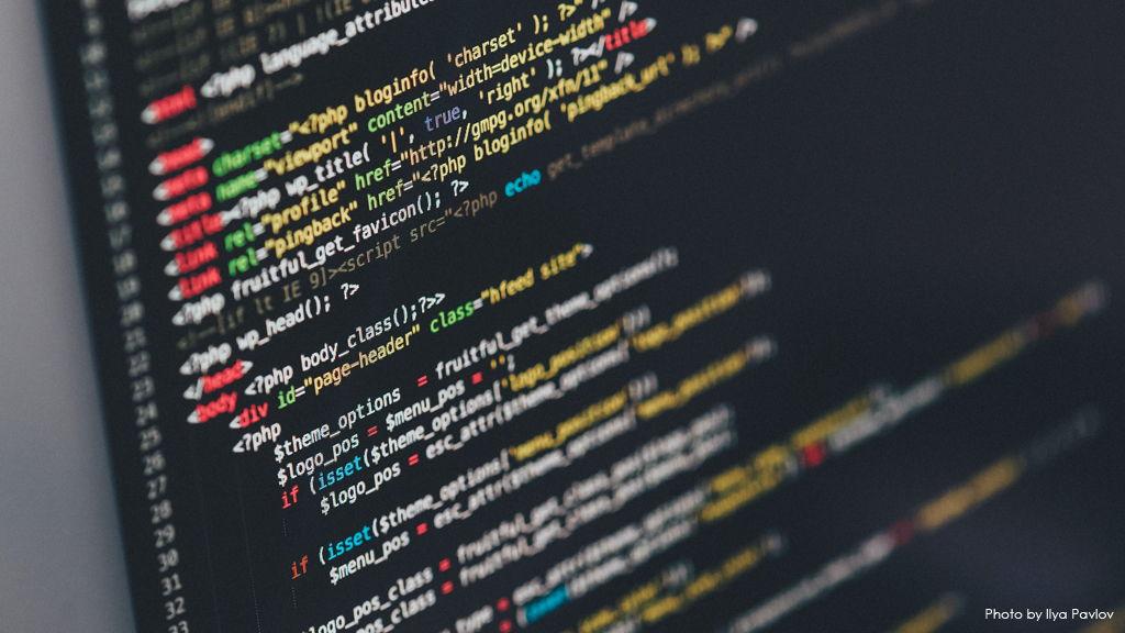 HTML Code Stock Image