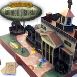 """Escape from the Haunted Mansion"" Baord Game"