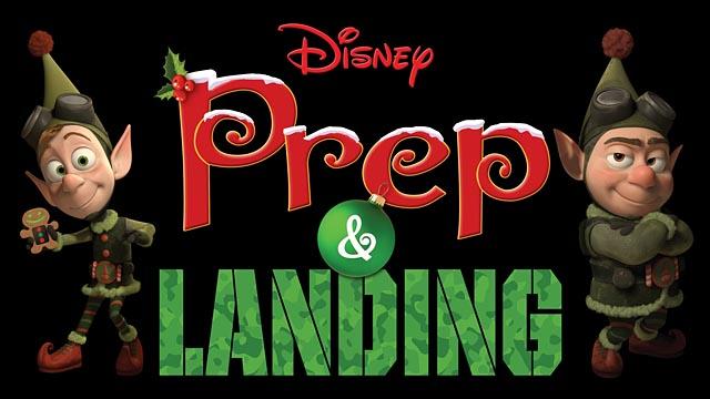 """Prep & Landing"" Logo"