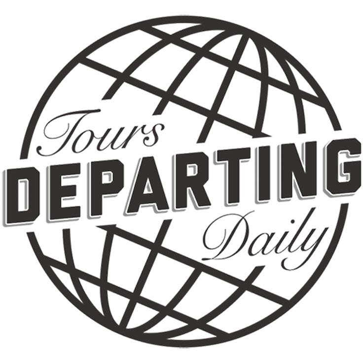 Tours Departing Daily Logo