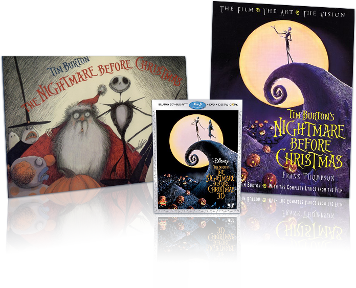 """Nightmare Before Christmas"" Prize Pack"