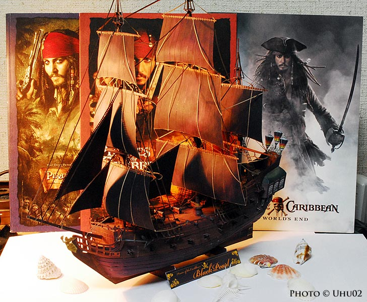 Black Pearl Paper Model