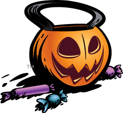 Trick-or-Treat Candy Bucket
