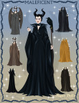 Maleficent Paper Doll