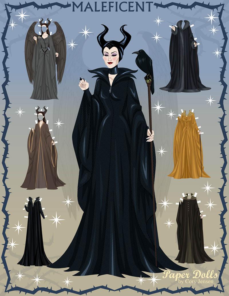 Maleficent Plays Dress Up