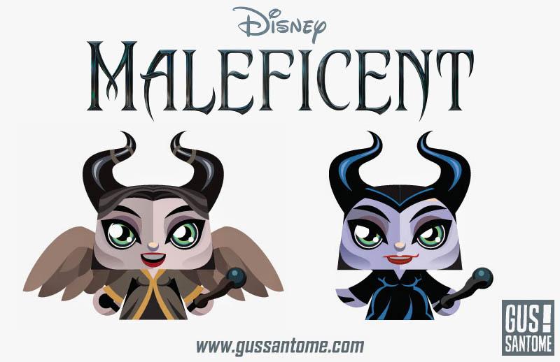 Maleficent Papercrafts