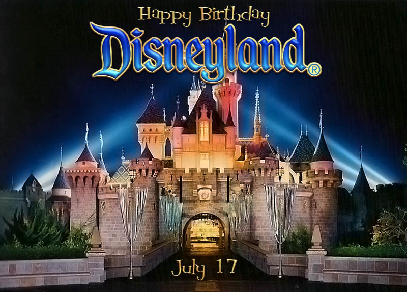 Disneyland Birthday Banner