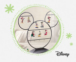 Mickey Ornament Display Stand