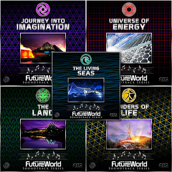 EPCOT Album Covers