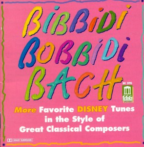 Bibbidi Bobbidi Bach Album Cover
