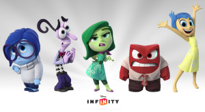 Disney Infinity 3.0 Inside Out Figures