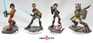 Disney Infinity 3.0 Star Wars RebelsFigures