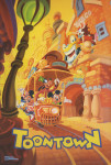Mickey's Toontown Attraction Poster