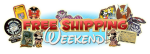 Free Shipping Weekend Logo