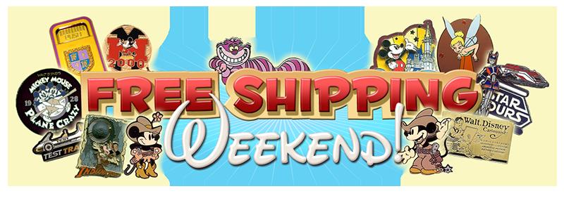 Free Shipping Weekend Logo
