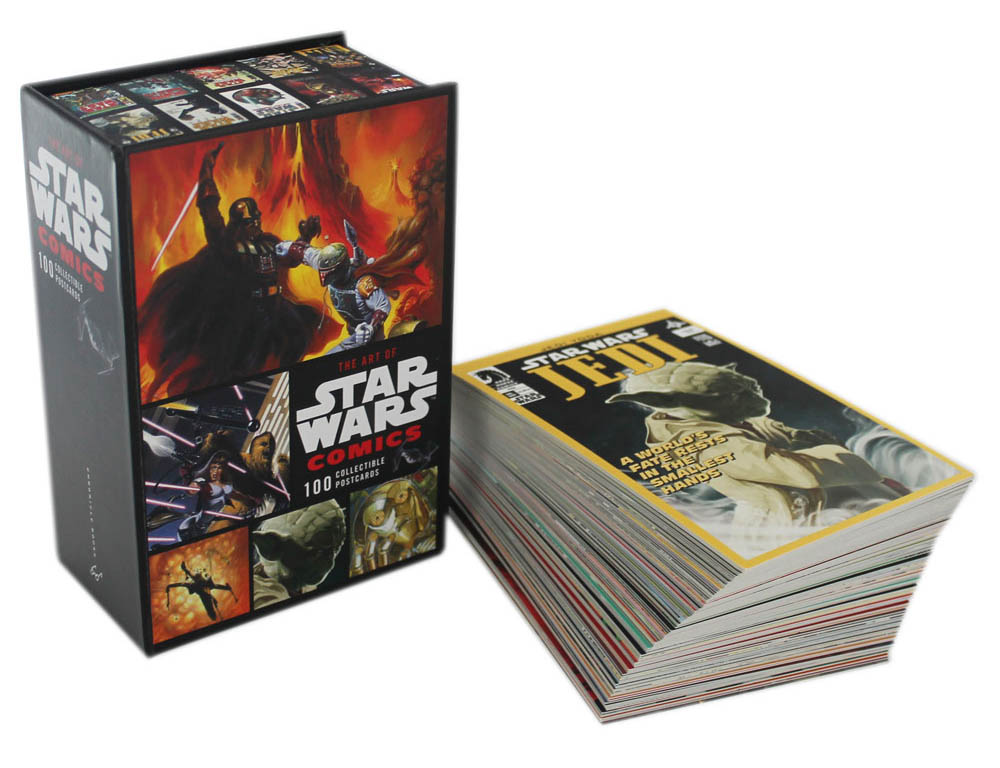 the art of star wars comics 100 collectible postcards