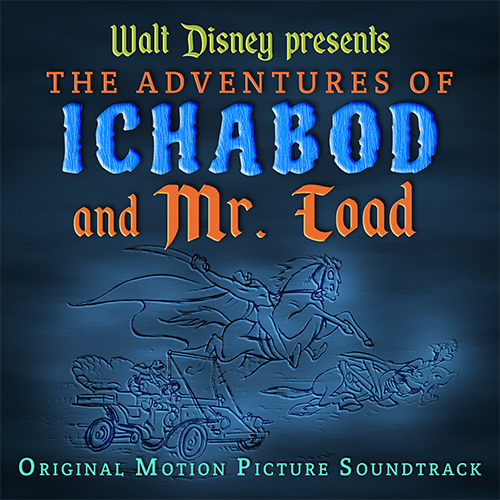 """The Adventures of Ichabod and Mr. Toad"" Album Art"