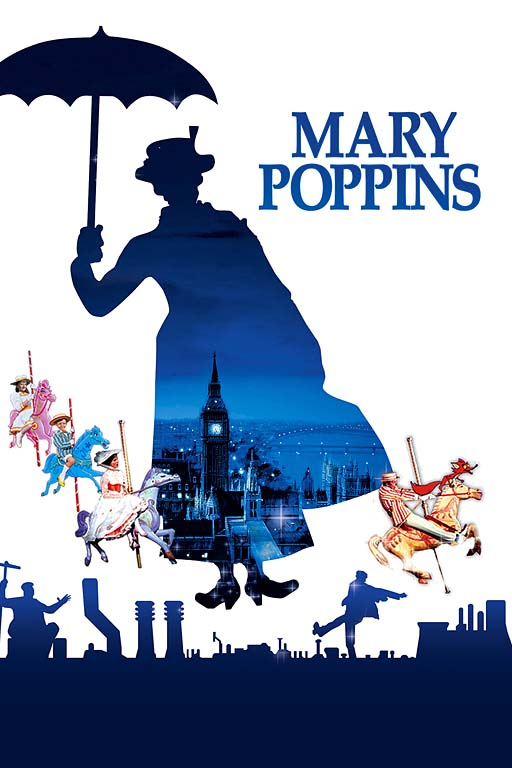 """Mary Poppins"" Poster"