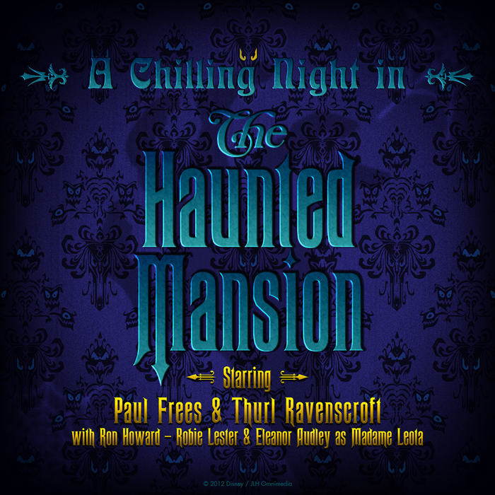 """""""A Chilling Night in the Haunted Mansion"""" Album Art"""