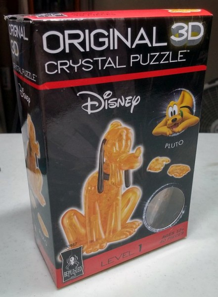 Orignal 3D Crystal Puzzle: Pluto