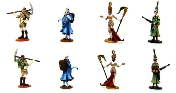 """The Adventurers"" Game Pieces"