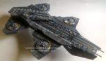 S.H.I.E.L.D. Helicarrier Paper Model