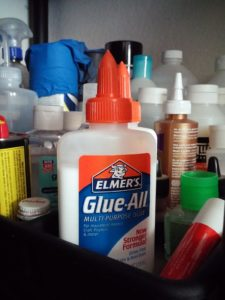Glue Stock Image