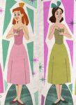 Anastasia & Drizella Paper Dolls