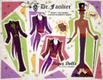 Dr. Facilier Paper Doll