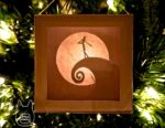 """Nightmare Before Christmas"" Lightbox Ornament"