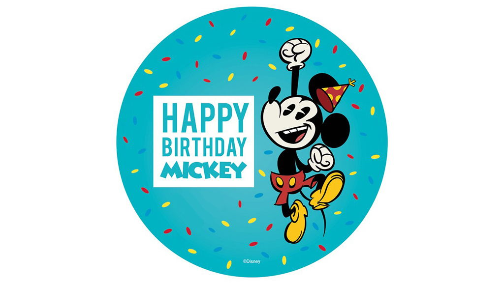 Mickey's Birthday Stock Image