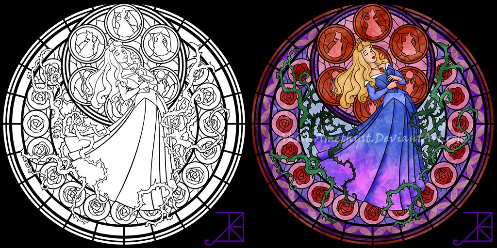 Easter Stained Glass Art | 512x1024