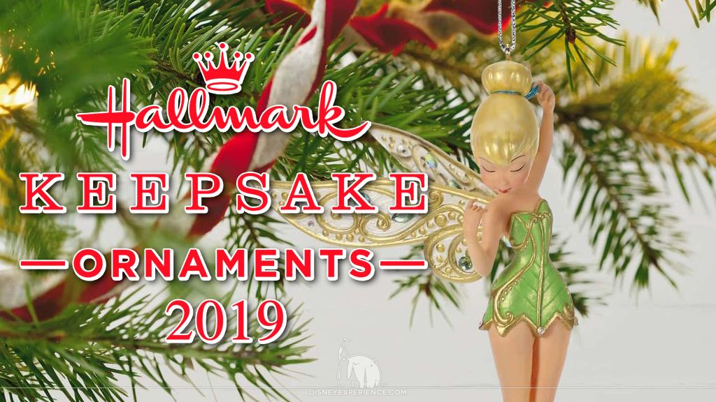 Hallmark Christmas Ornaments 2019.2019 Disney Hallmark Keepsake Ornaments