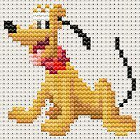 Disney Pixel Art Cross Stitch