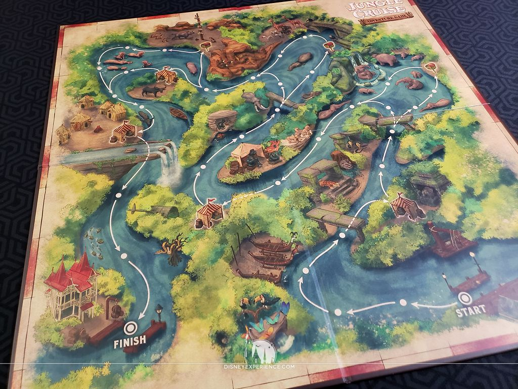 Jungle Cruise Adventure Game A Voyage Of Mystery And Misfortune